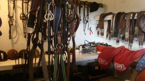 Tackroom at Weiti Sation, Albany, Auckland